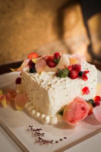 サプライズプロポーズ準備ケーキ画像