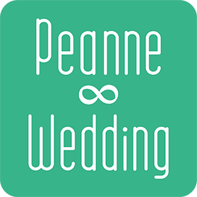 Peanne∞Weddingロゴ